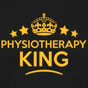 physiotherapy king keep calm style crown T-SHIRT - Men's T-Shirt