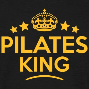 pilates king keep calm style crown stars T-SHIRT - Men's T-Shirt