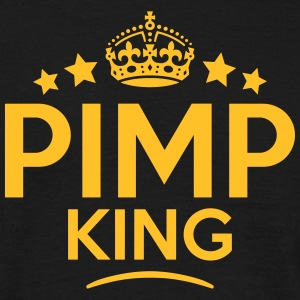 pimp king keep calm style crown stars T-SHIRT - Men's T-Shirt