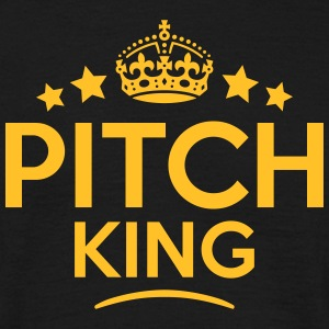 pitch king keep calm style crown stars T-SHIRT - Men's T-Shirt