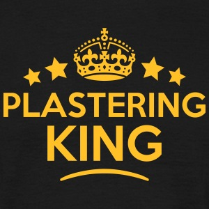 plastering king keep calm style crown st T-SHIRT - Men's T-Shirt