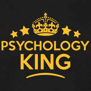 psychology king keep calm style crown st T-SHIRT - Men's T-Shirt
