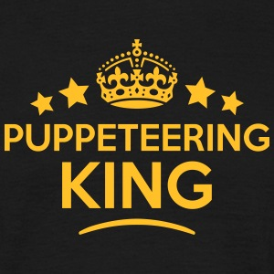 puppeteering king keep calm style crown  T-SHIRT - Men's T-Shirt