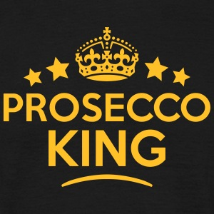 prosecco king keep calm style crown star T-SHIRT - Men's T-Shirt