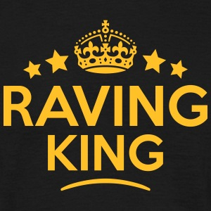 raving king keep calm style crown stars T-SHIRT - Men's T-Shirt
