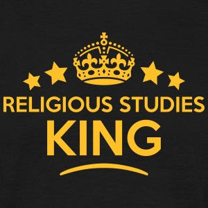 religious studies king keep calm style c T-SHIRT - Men's T-Shirt