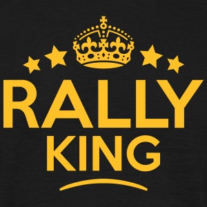 rally king keep calm style crown stars T-SHIRT - Men's T-Shirt