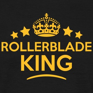 rollerblade king keep calm style crown s T-SHIRT - Men's T-Shirt