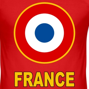 Cocarde France Tee shirts - Tee shirt près du corps Homme