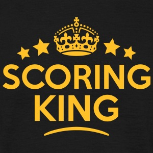scoring king keep calm style crown stars T-SHIRT - Men's T-Shirt