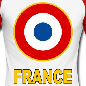 Cocarde France Manches longues - T-shirt baseball manches longues Homme