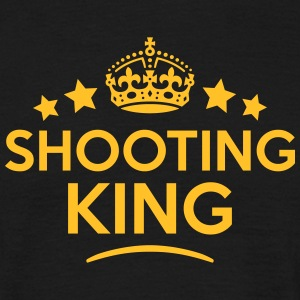 shooting king keep calm style crown star T-SHIRT - Men's T-Shirt
