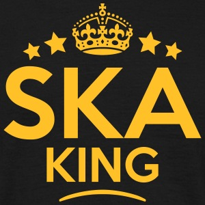 ska king keep calm style crown stars T-SHIRT - Men's T-Shirt