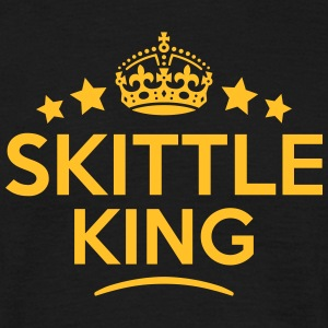 skittle king keep calm style crown stars T-SHIRT - Men's T-Shirt