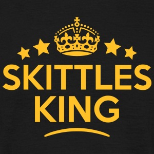 skittles king keep calm style crown star T-SHIRT - Men's T-Shirt