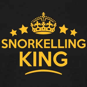 snorkelling king keep calm style crown s T-SHIRT - Men's T-Shirt