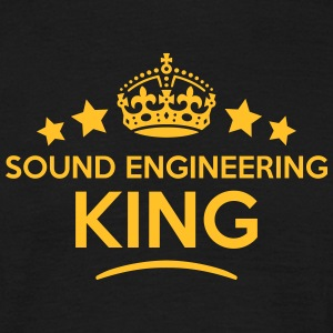 sound engineering king keep calm style c T-SHIRT - Men's T-Shirt