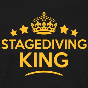stagediving king keep calm style crown s T-SHIRT - Men's T-Shirt