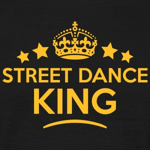 street dance king keep calm style crown  T-SHIRT - Men's T-Shirt