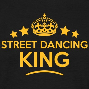 street dancing king keep calm style crow T-SHIRT - Men's T-Shirt