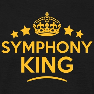 symphony king keep calm style crown star T-SHIRT - Men's T-Shirt