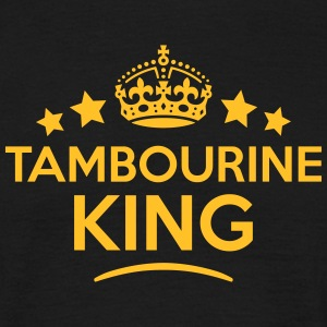 tambourine king keep calm style crown st T-SHIRT - Men's T-Shirt