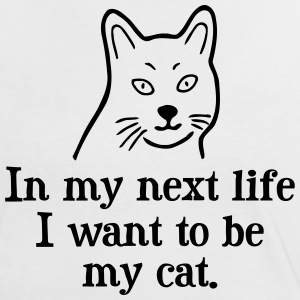 Want to be my cat T-Shirts - Women's Ringer T-Shirt