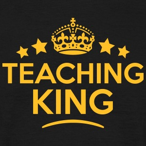 teaching king keep calm style crown star T-SHIRT - Men's T-Shirt