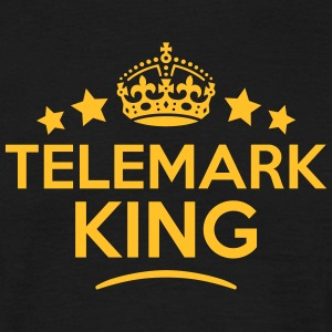 telemark king keep calm style crown star T-SHIRT - Men's T-Shirt