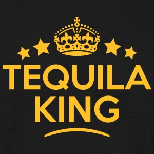 tequila king keep calm style crown stars T-SHIRT - Men's T-Shirt