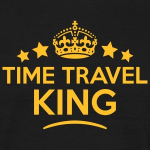 time travel king keep calm style crown s T-SHIRT - Men's T-Shirt