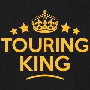 touring king keep calm style crown stars T-SHIRT - Men's T-Shirt