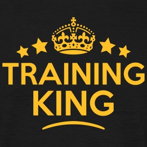 training king keep calm style crown star T-SHIRT - Men's T-Shirt