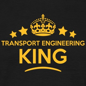 transport engineering king keep calm sty T-SHIRT - Men's T-Shirt