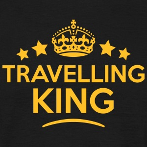 travelling king keep calm style crown st T-SHIRT - Men's T-Shirt