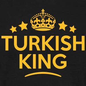 turkish king keep calm style crown stars T-SHIRT - Men's T-Shirt