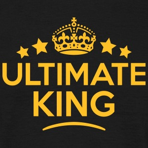 ultimate king keep calm style crown star T-SHIRT - Men's T-Shirt