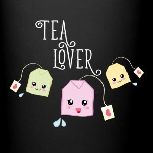 Black Tea bag kawaii Mugs & Drinkware - Full Colour Mug