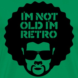im not old im retro T-Shirts - Men's Premium T-Shirt