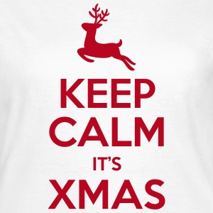 Keep Calm It's Xmas T-Shirts - Frauen T-Shirt