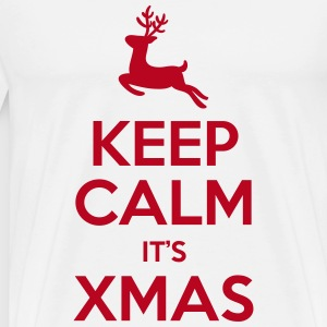 Keep Calm It's Xmas T-Shirts - Männer Premium T-Shirt