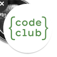 Design ~ Code Club white badge