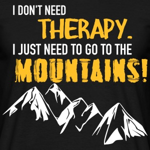 Therapy Mountains T-Shirts - Men's T-Shirt