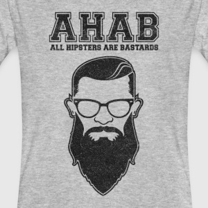 ALL HIPSTERS ARE BASTARDS - Funny Parody  T-shirts - Mannen Bio-T-shirt