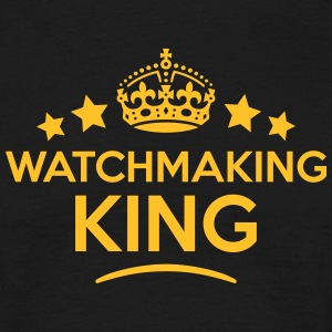 watchmaking king keep calm style crown s T-SHIRT - Men's T-Shirt