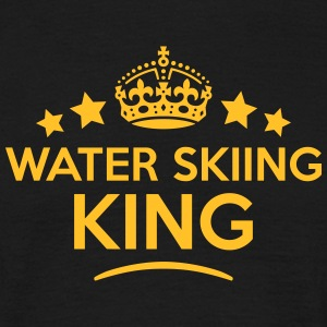 water skiing king keep calm style crown  T-SHIRT - Men's T-Shirt