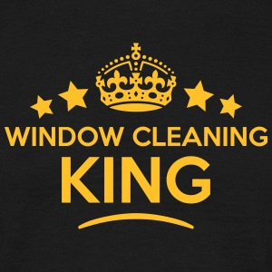 window cleaning king keep calm style  T-SHIRT - Men's T-Shirt