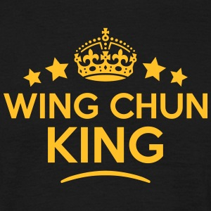 wing chun king keep calm style crown sta T-SHIRT - Men's T-Shirt