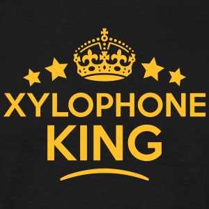 xylophone king keep calm style crown sta T-SHIRT - Men's T-Shirt