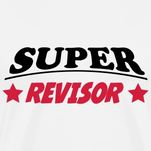 Super revisor T-shirts - Herre premium T-shirt
